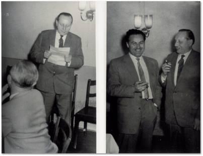Werner Hellriegel - Heinz Depa und Werner Hellriegel