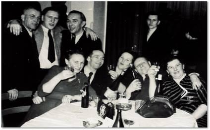 Silvesterfeier 1954