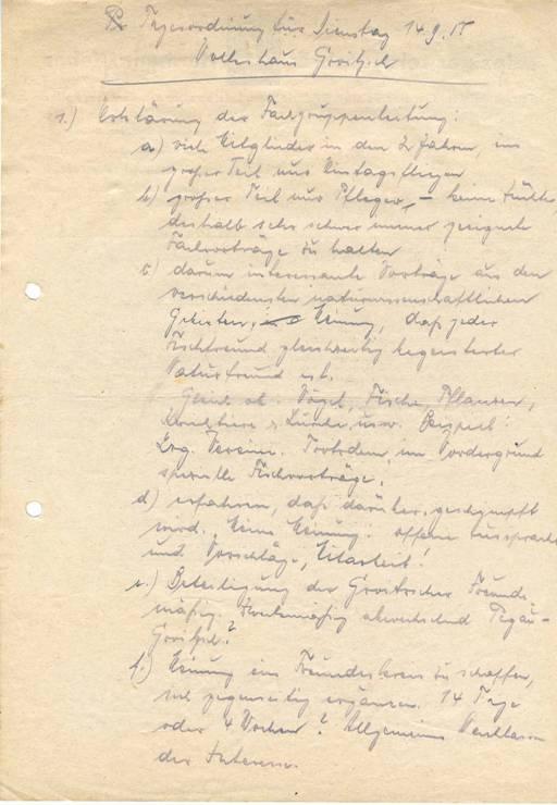 Tagesordnung vom 14.09.1955